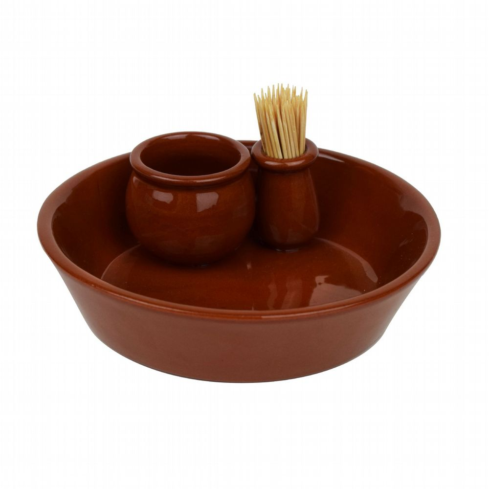 Authentic Spanish Terracotta - Olive Dish